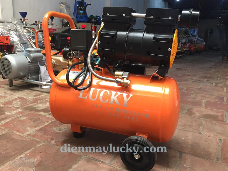máy nén khí mini không dầu 24 lít