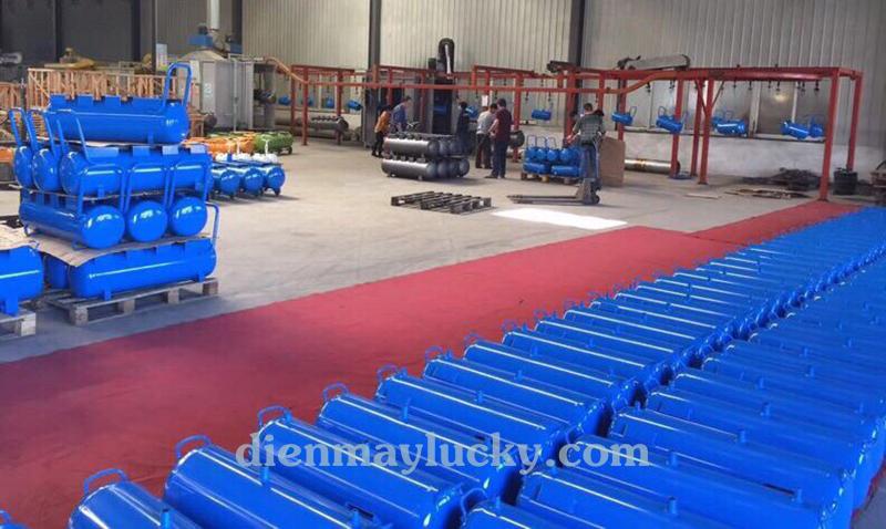 Sản xuất máy nén khí chạy xăng dầu pegasus