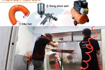 5 Lưu ý sử dụng máy nén khí mini phun sơn không thể bỏ qua!