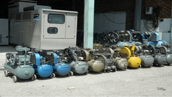 bán máy bơm hơi đã qua sử dụng