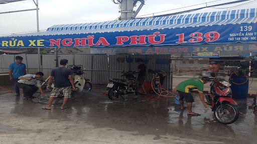 kinh doanh rửa xe máy