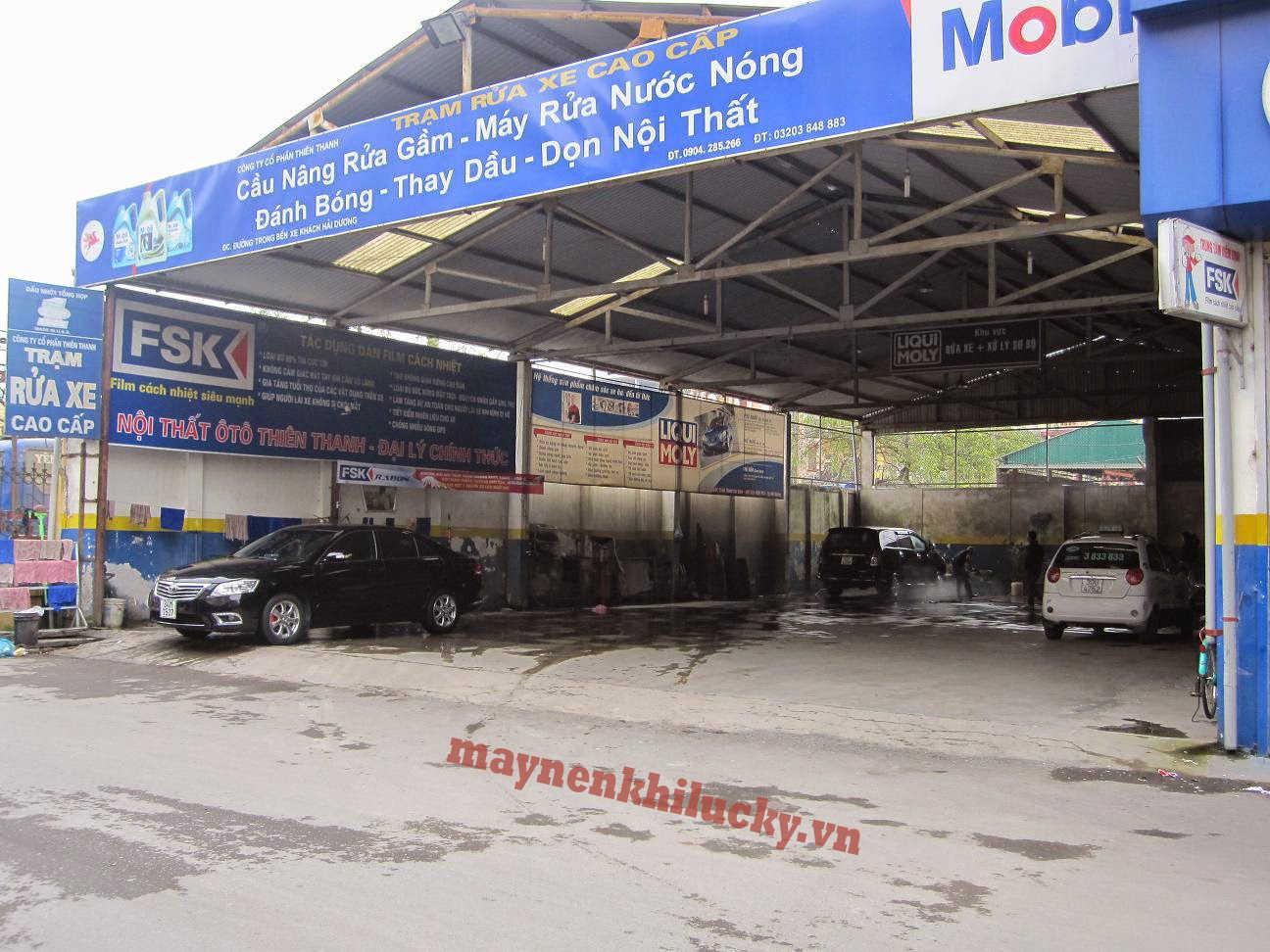 mô hình kinh doanh rửa xe ô tô