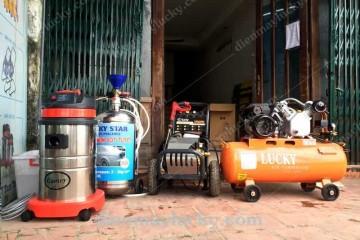 Dây chuyền rửa xe ô tô đầy đủ thiết bị từ A – Z