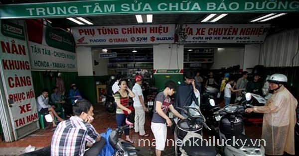 mở cửa hàng sửa chữa xe máy, kinh doanh rửa xe máy, lưu ý mở cửa hàng rửa xe máy