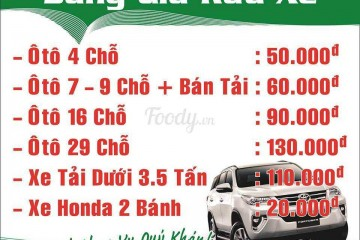 Bảng giá rửa xe ô tô hiện nay ra sao? Cách tính giá rửa xe ô tô tránh bị hớ