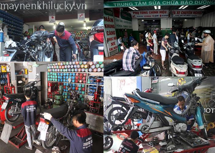 mở tiệm sửa xe máy