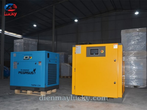 máy nén khí trục vít có dầu