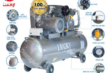 Cấu tạo máy nén khí công nghiệp và ứng dụng máy nén khí trong công nghiệp
